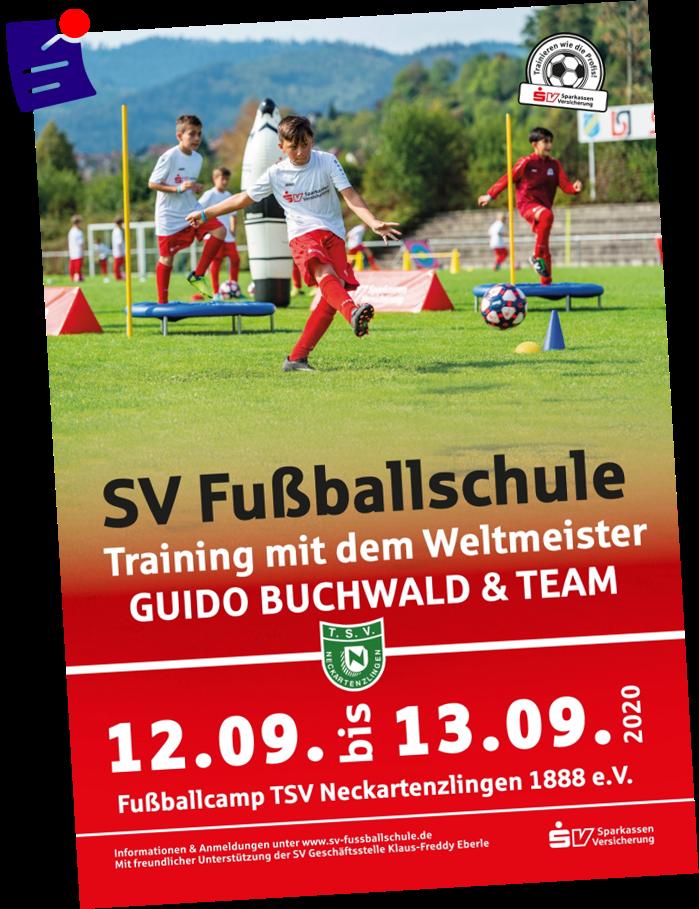 SV Fußballschule Flyer